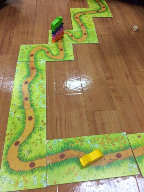 道を進むアナログゲーム