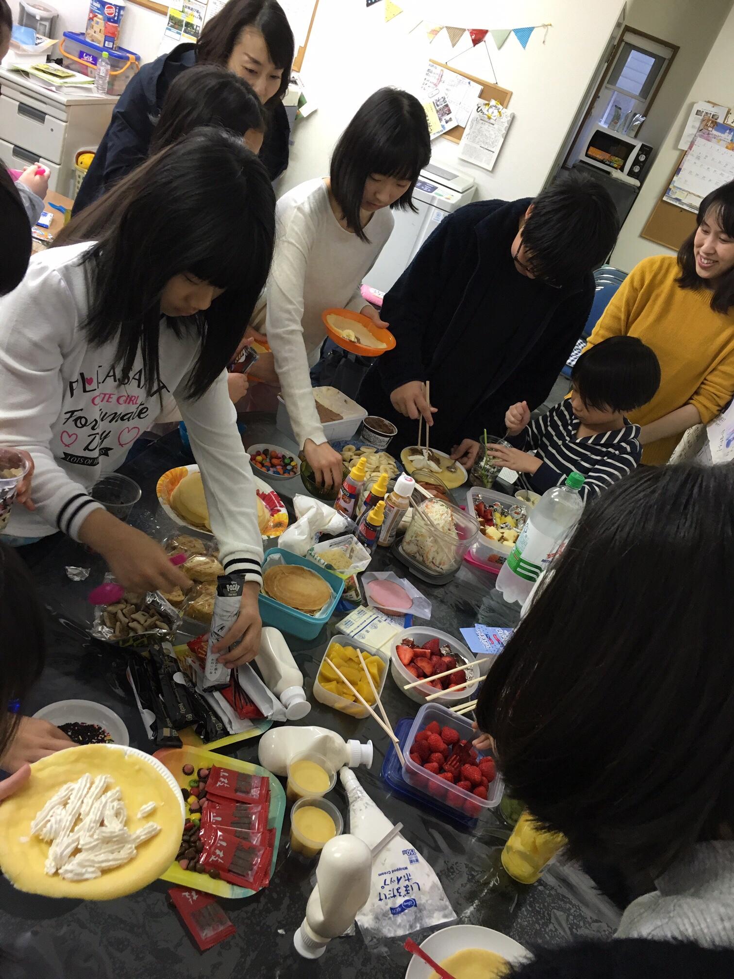 スイーツパーティー☆札幌西子ども劇場