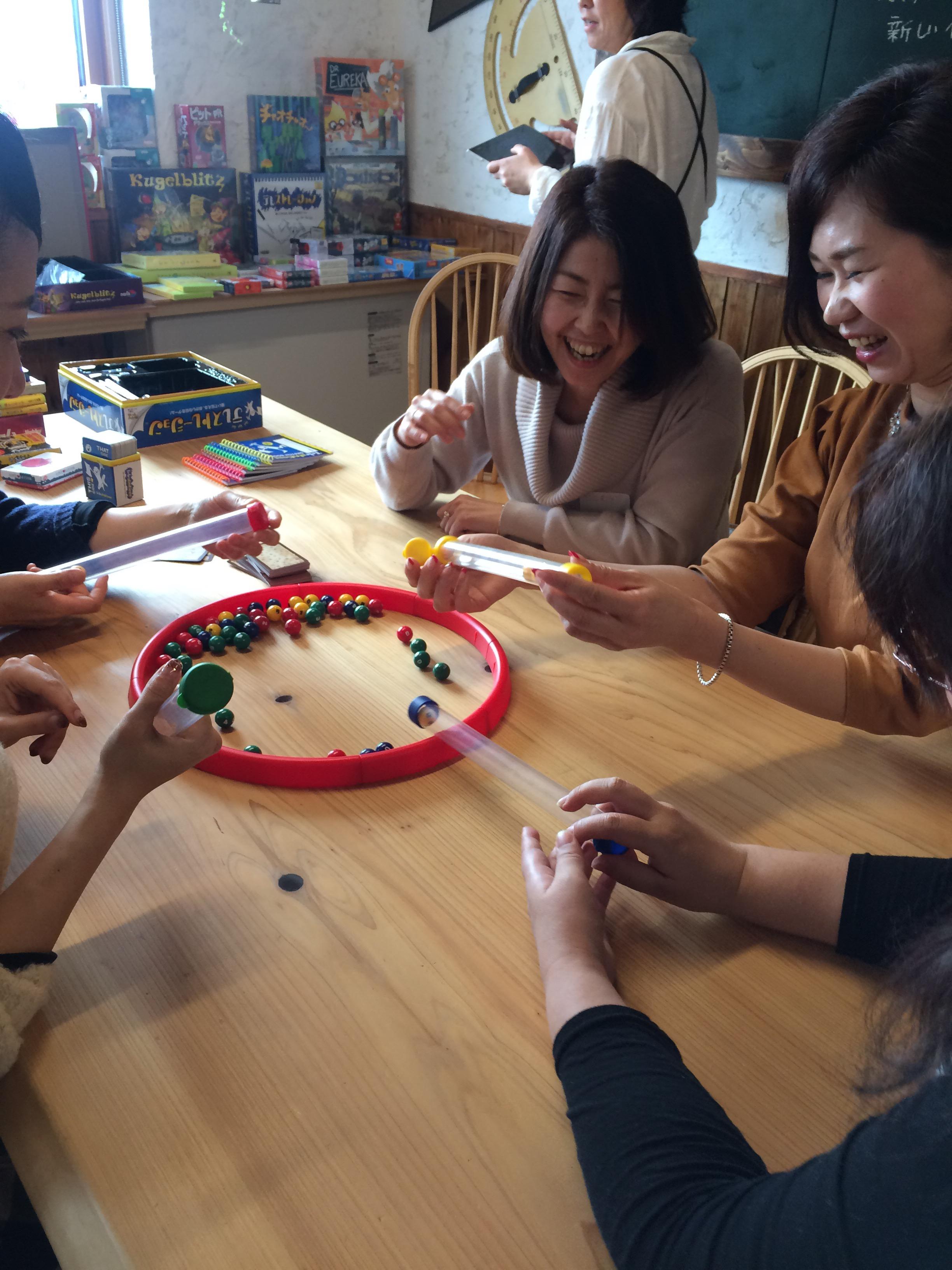 1月 大人が遊ぶアナログゲームカフェ レポート