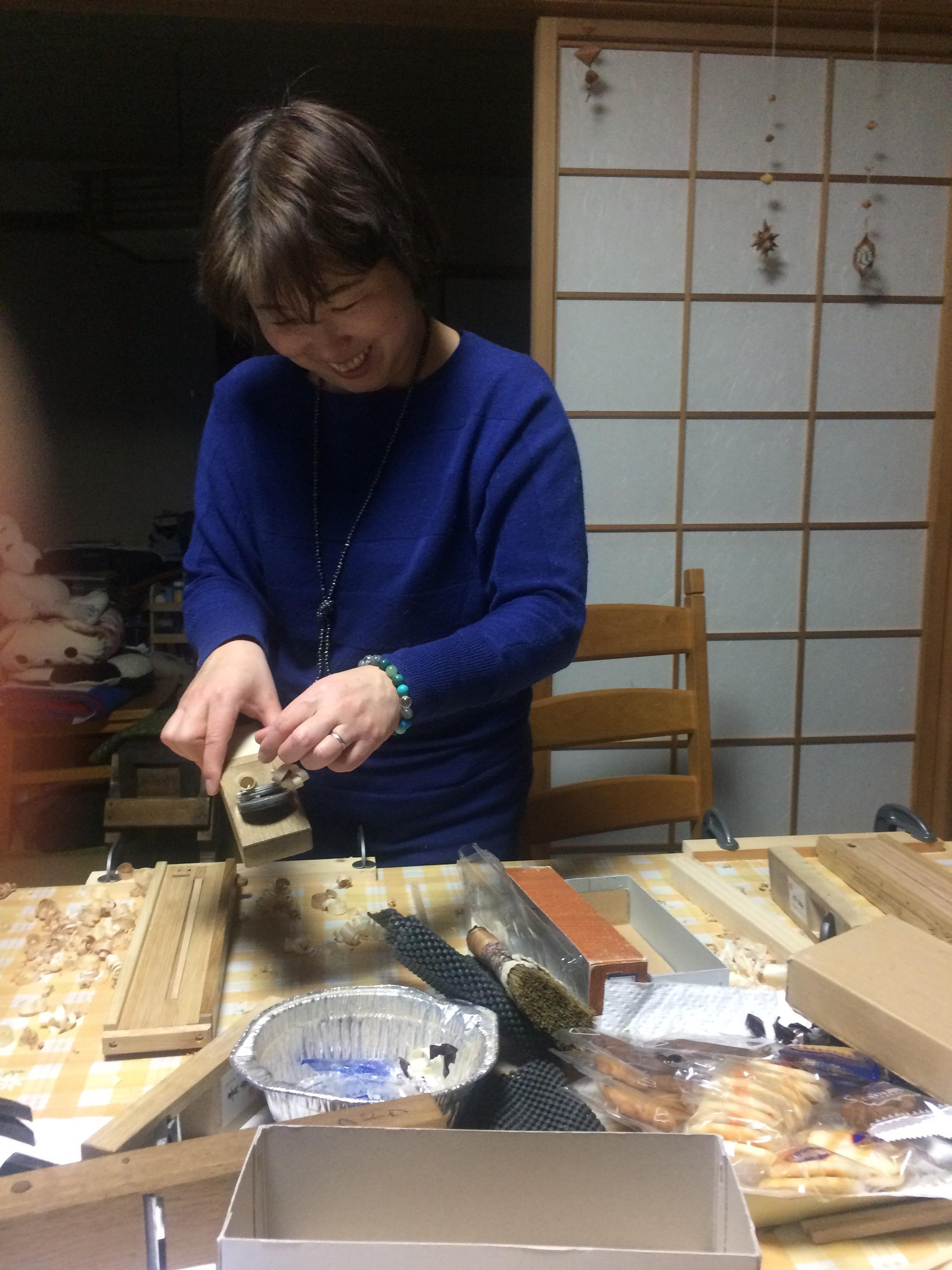 木育スキルアップ! 〜マイ箸づくり研修〜