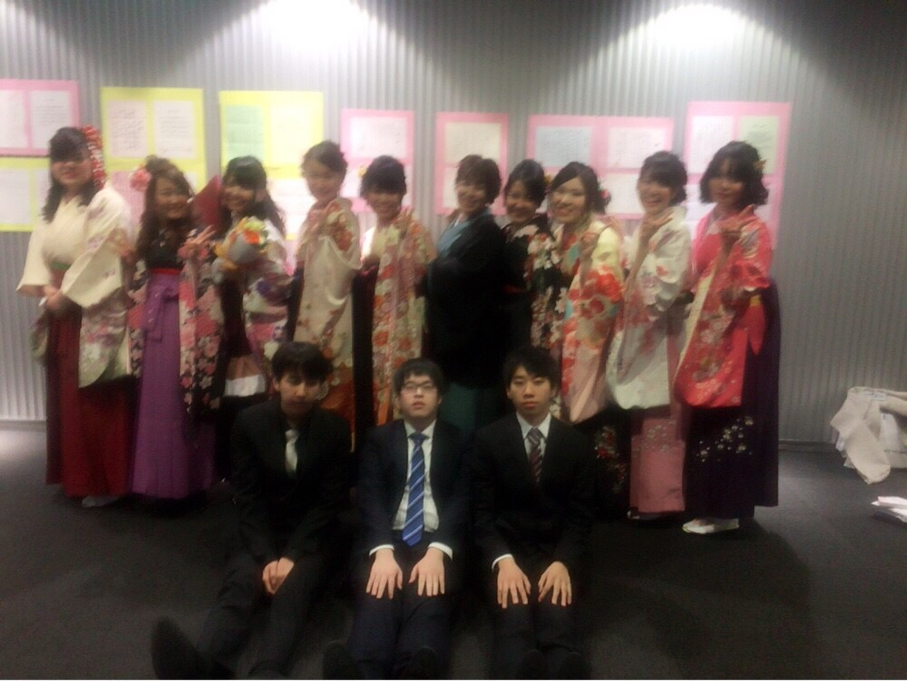 札幌こども専門学校 卒業式&謝恩会  今年のテーマは「愛」