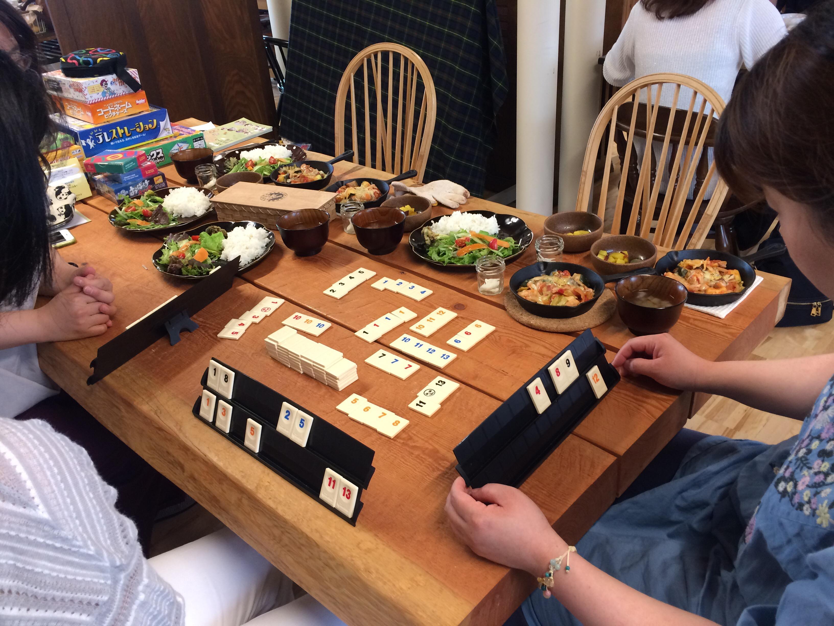 大人が遊ぶ☆アナログゲームカフェ レポート
